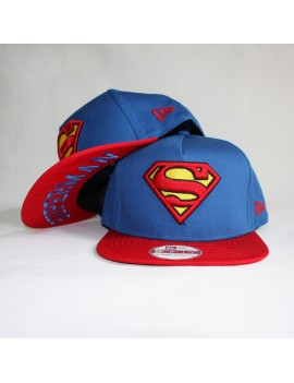 Snapback New Era Basic Badge Superman