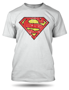 superman washed white