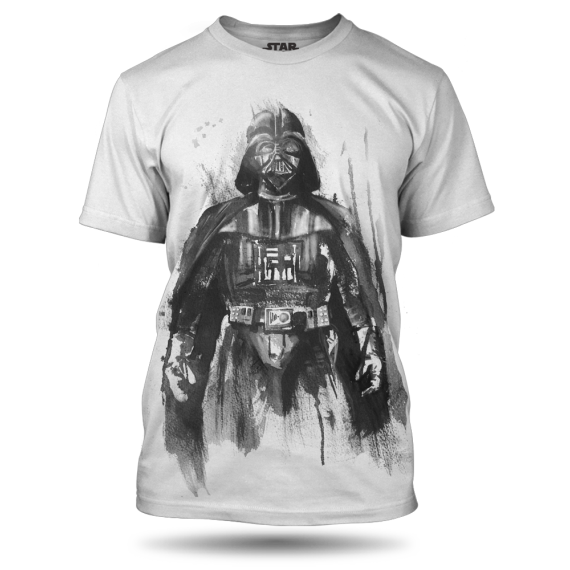 vader on white with shadow