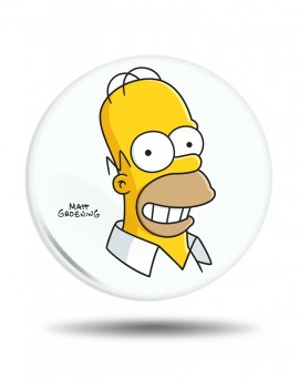Placka Simpsons Homer Simpson