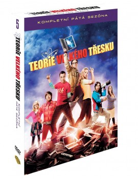 DVD The Big Bang Theory 5. série