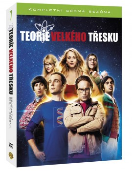 DVD The Big Bang Theory 7. série