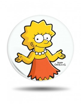 Placka Simpsons Lisa Simpson