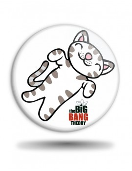 Placka Big Bang Theory Soft Kitty