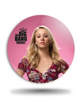 Placka Big Bang Theory Penny pink
