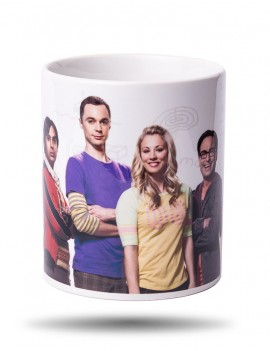 Hrnek The Big Bang Theory skupina