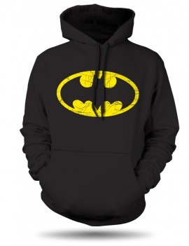 Mikina Batman logo distressed Unisex