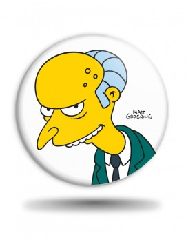Placka Simpsons Mr. Burns