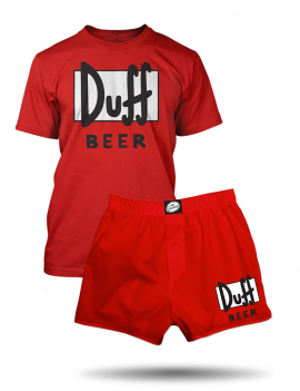 Pyžamo The Simpsons DUFF BEER