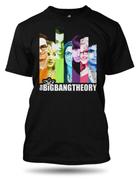 Tričko The Big Bang Theory Stripes